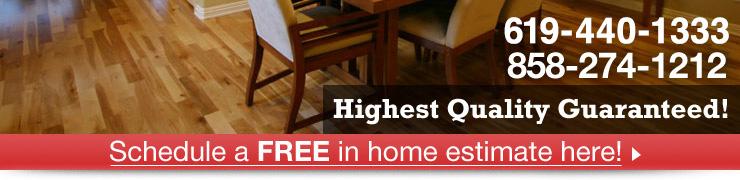 San Diegos hardwood highest quality guaranteed